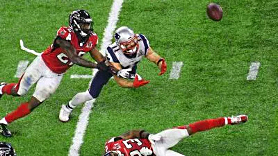 Edelman Amazing Catch in Super Bowl 51
